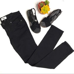 Paige Skyline Skinny Jeans in Black